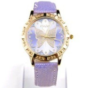 Purple Butterfly Watch